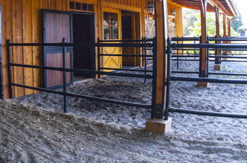 440 Style Fence For Barn
